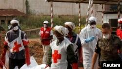 La Croix Rouge et le CICR sont très actifs à travers l'ensemble de la Centrafrique