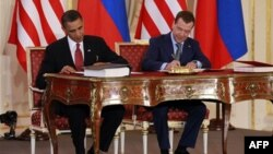 Барак Обама поблагодарил Дмитрия Медведева за ратификацию СНВ-3