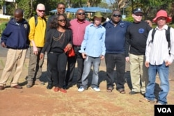 People with albinism pose with campaigners for their rights in the capital of Lilongwe, Malawi, in early 2016 before the start of street protests against recent attacks. Albinos are targeted because of the false belief that their body parts have powers to increase wealth.