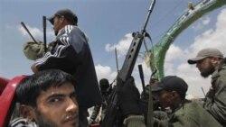 حمله جنگنده بی سرنشین آمریکا به مواضع قذافی