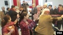 واشنگٹن میں سندھی کلچر ڈے کے موقع پر روایتی رقص، یکم دسمبر 2019