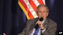 前美國總統布殊取消外訪行程。