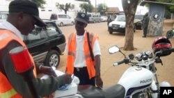 Polícia de Chimoio em acção