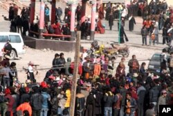 Tibetans Held Mass Pray-in in Nangchen