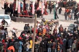 Tibetans Held Mass Pray-in in Nangchen