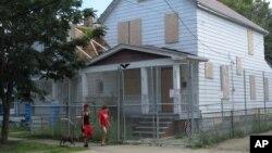 Rumah Ariel Castro di Cleveland, Ohio (Foto: dok).