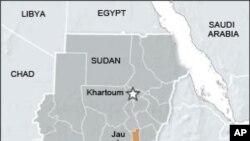 苏丹和南苏丹的地理位置