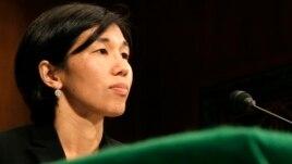 FILE - Nicole Wong, May 20, 2008.