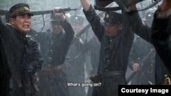 북한 유일의 영화학교에 대한 다큐멘터리 '더 그레이트 노스 코리안 픽쳐 쇼 (The Great North Korean Picture Show)'의 한 장면.