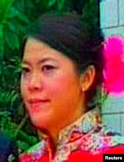 中国房地产开发商碧桂园的大股东杨惠妍的婚礼视频的截图。