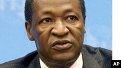 L'ancien président du Burkina Faso, Blaise Compaoré.