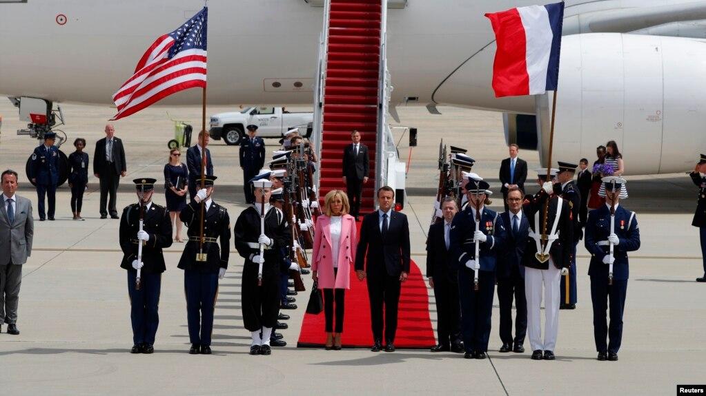 Macron nis vizitën shtetërore në Uashington