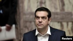 希腊总理齐普拉斯(资料照片)