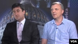 Ислам Шахбандаров и Вадим Карастелев