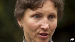 Вдова Александра Литвиненко, Марина