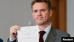 Председатель Центральной избирательной комиссии Украины Михаил Охендовский