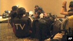 Новинарите ослободени во Либија