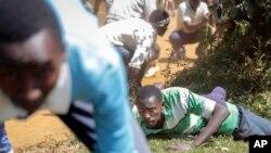 ARCHIVES- Des manifestations au Burundi