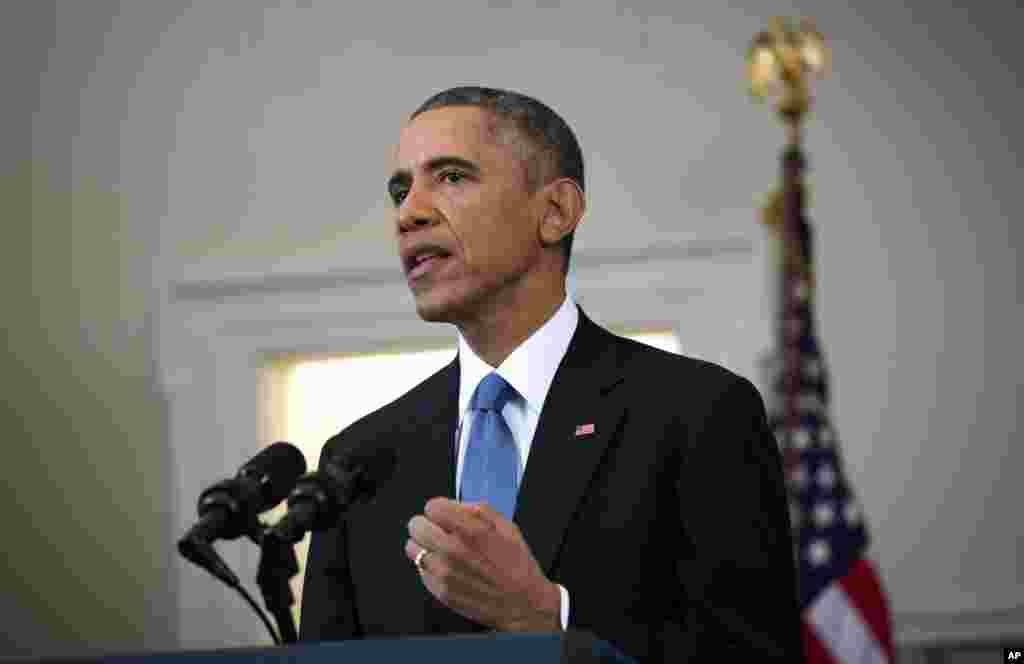 Prezident Obama qarori bilan Kubaga qo'yilgan qator iqtisodiy sanksiyalar olib tashlanadi.