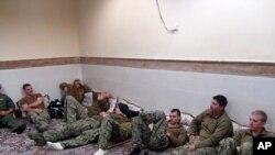 Mabaharia wa Marekani walioachiwa na Iran, Januari 13, 2016