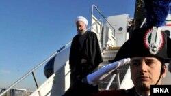 حسن روحانی بعد از سفر به ایتالیا و واتیکان، روز چهارشنبه در پاریس حضور یافت.