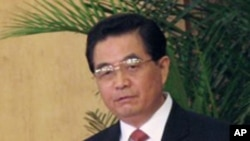 후진타오 중국 국가주석 (자료사진)