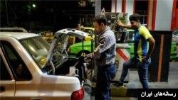 گزارشهای اولیه از ازدحام در برخی پمپ های بنزین خبر داد.
