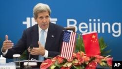 El secretario de Estado de Estados Unidos, John Kerry, dice que EE.UU. y China harán cumplir las más estrictas sanciones a Corea del Norte.