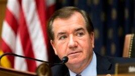 Chủ tịch Ủy ban Đối ngoại Hạ viện Hoa Kỳ, dân biểu Ed Royce.