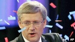 کینیڈا: انتخابات میں وزیر اعظم ہارپر کی پارٹی کی فتح