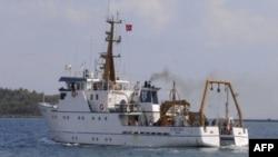 Një anije turke drejt Mesdheut për eksplorime gazi e nafte