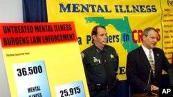 Para pembicara seminar kesehatan jiwa di Florida, AS.