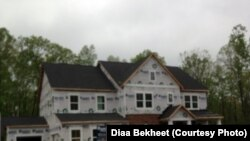 A new family house under construction in Loudoun County, Virginia. (Photo: Diaa Bekheet). U.S. homebuilders are feeling more optimistic than they have in months, looking past a recent slowdown in new home sales and the risk of rising labor and materials costs following hurricanes Harvey and Irma.