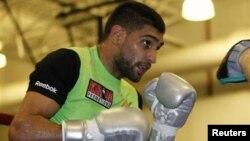 Amir khan, một trong nhiều đấu thủ chuyên nghiệp bày tỏ ước muốn tranh tài ở Olympic.
