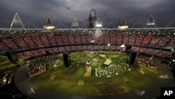 런던 올림픽 개막식.