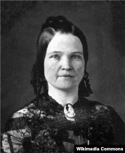 Mary Todd Lincoln in 1846 or 1847