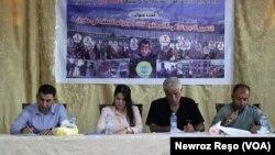 Panel derbarê guhertina demografîk li Efrîn