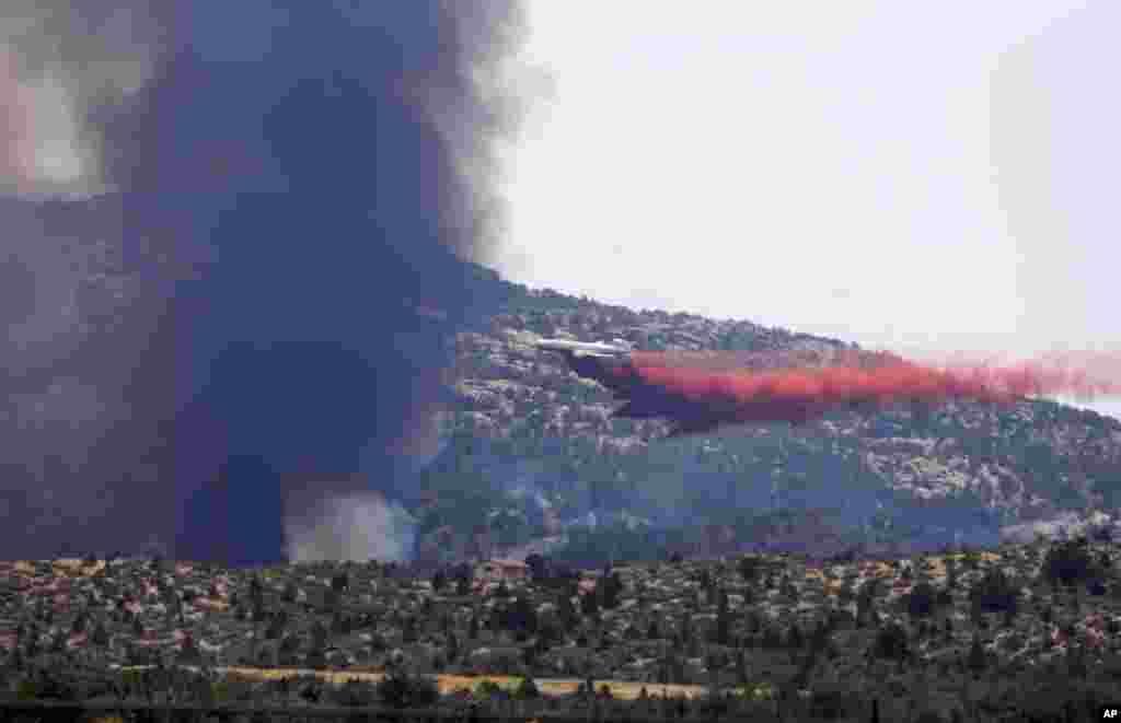 Gašenke požara u Jarnelu.