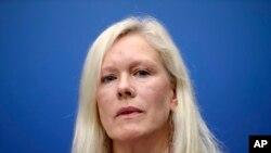 瑞典前驻华大使林戴安(资料照片)