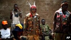 Un milicien anti-balaka dans le quartier du Combattant à Bangui, RCA, le 4 février 2014.