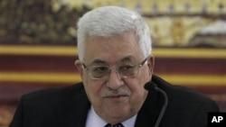 巴勒斯坦权力机构主席阿巴斯周六在拉马拉出席会议