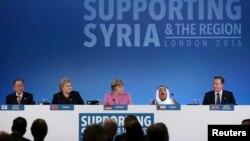 Svetski lideri na međunarodnoj donatorskoj konferenciji za Siriju u Londonu