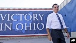 Capres AS Mitt Romney terus mengecam kebijakan ekonomi Obama dan krisis ekonomi selama 4 tahun terakhir dalam kampanyenya.