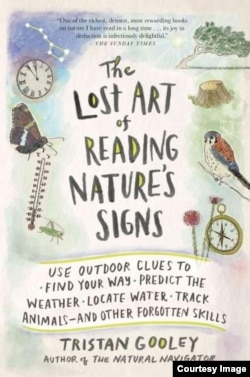 The Lost Art of Reading Nature's Signs by Tristan Gooley shares more than 850 different clues from nature that can help people find their way, predict the weather and get more out of their time outdoors.