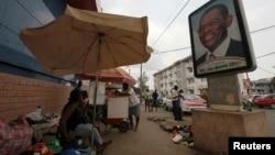 Dans une rue de Malabo, la capitale de la Guinée équatoriale, le 24 janvier 2012.