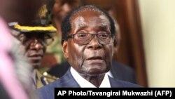 Zimbabwe President Robert Mugabe at 2016 Annual Zanu