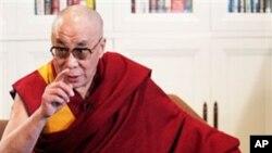 流亡西藏精神领袖达赖喇嘛(资料照)
