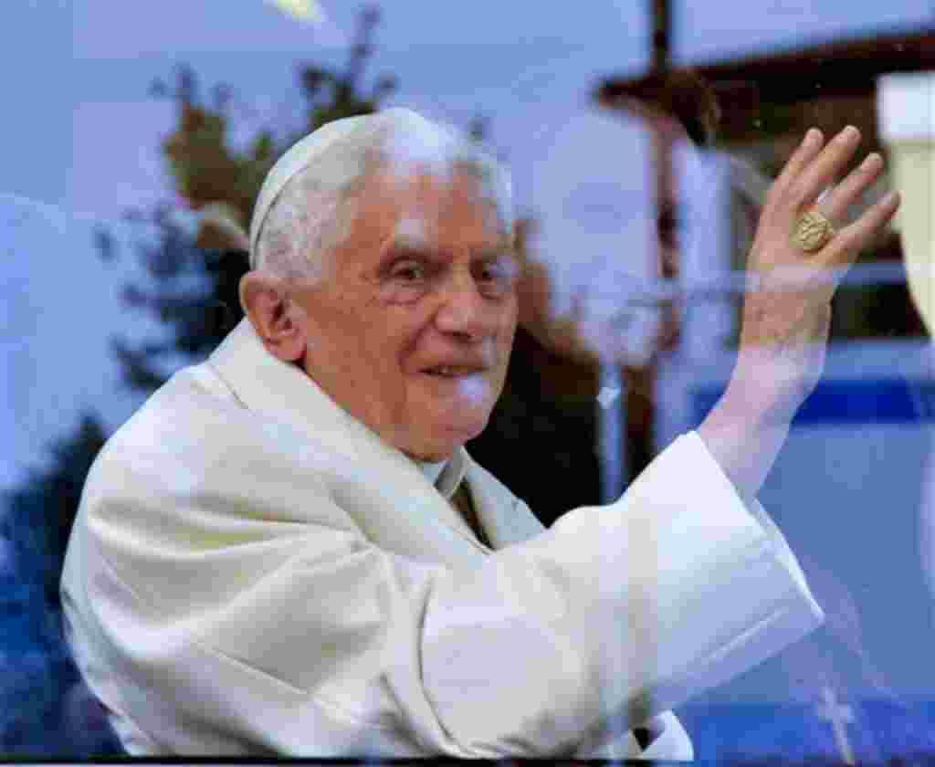 Papa Benedict XVI, líder de la Iglesia Católica.