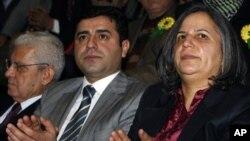 BDP eşbaşkanları Selahattin Demirtaş ve Gültan Kışanak