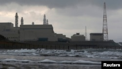 TEPCO's Kashiwazaki Kariwa nuclear power plant, the world's biggest, is seen from a seaside in Kashiwazaki, November 12, 2012.